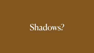 Shadows on portraits